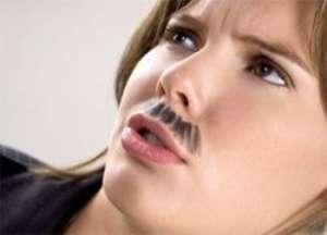 Усы у женщин - как избавиться?