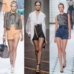 Элегантные шорты в классическом стиле - модный тренд весны 2013