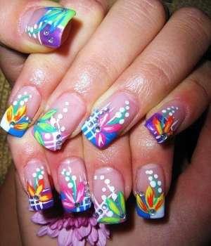 Дизайн ногтей сезона весна-лето 2011