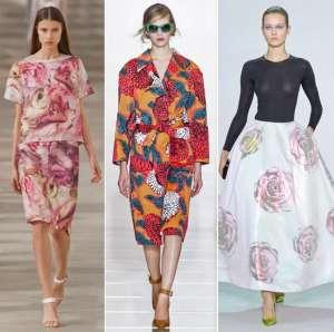 Цветочные принты - модный тренд весенне-летнего сезона 2013