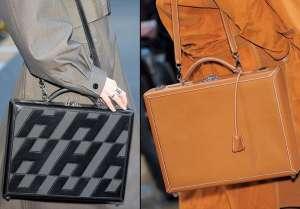 Сумка-чемодан в винтажном стиле - модный тренд осеннего сезона