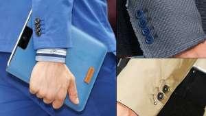 Мужские пиджаки с манжетами на пуговицах: модный тренд лета 2013