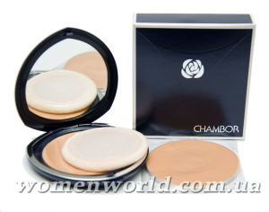 Пудра Silver Shadow compact powder от Chambor. Отзыв
