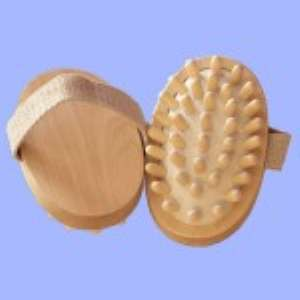 Массажер антицеллюлитный деревянный. Отзыв