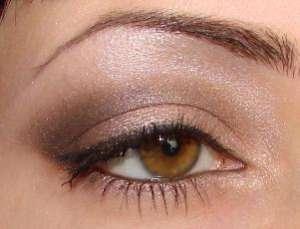 Фото-урок макияжа в коричневых тонах