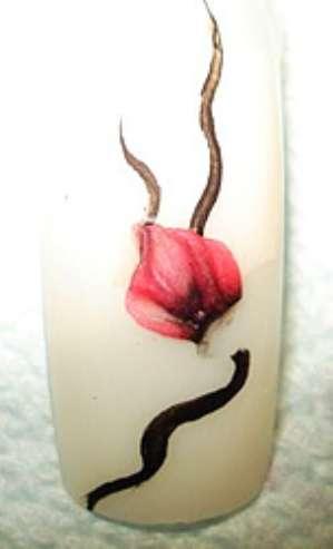 Фото-урок маникюра «Акриловый цветок&#187