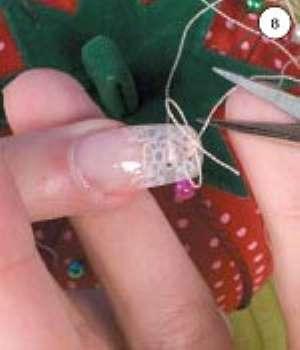 Фото-урок маникюра и росписи на ногтях: Кружевные ногти