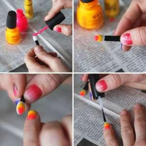Как сделать маникюр градиент?