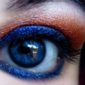 Макияж для голубоглазых и сероглазых. Фото