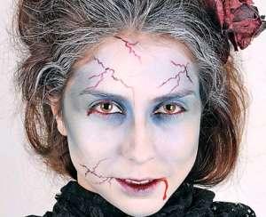 Как сделать макияж на Хэллоуин?