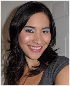 Фото-урок макияжа: голубые тона