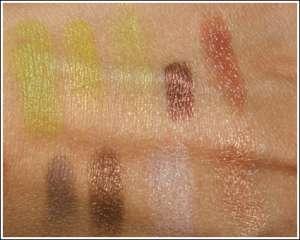 Фото-урок макияжа: золотой зеленый