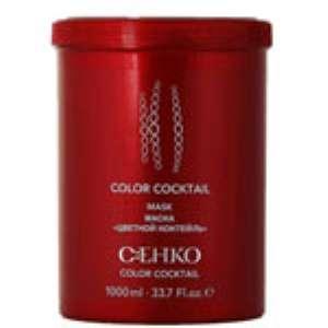 Маска «Цветной коктейль» для окрашенных волос с миндальным протеином C:EHKO. Отзыв