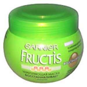 Маска для волос Garnier «Фруктис» восcтановление и блеск. Отзыв