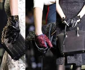 Модные перчатки 2012