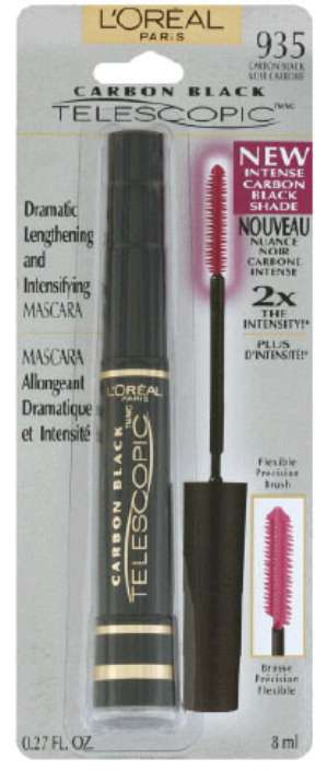 Тушь Telescopic Carbone Black от L'Oreal - отзыв