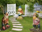 Садовые фигурки для сада