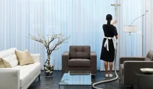 Как почистить шторы и жалюзи