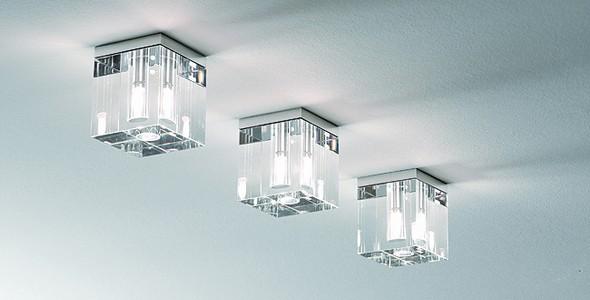 Потолочные светильники в квартире