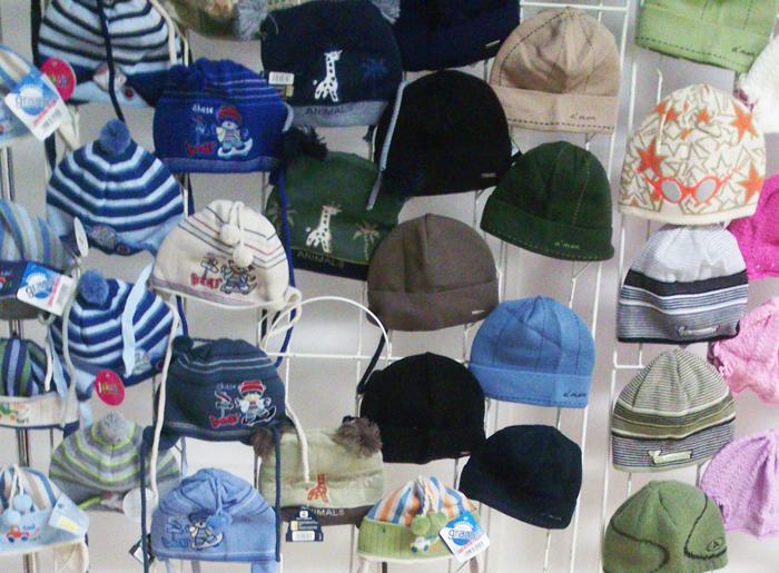 Разные шапки