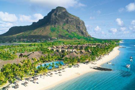 Маленькие дома на островке Маврикий