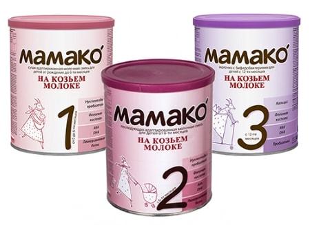 питание для детей на козьем молоке