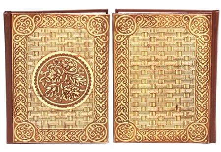Обложка блокнота из бересты