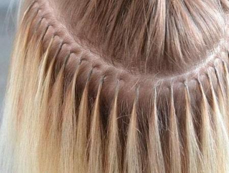 Как происходит капсульное наращивание волос